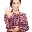 Asian woman smiling — Stock Photo #8933116