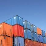 last container — Stockfoto