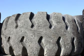 Old car tyre — Stock Photo