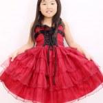 uma menina asiática — Foto Stock