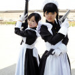 Young asian women performing cosplay - Stock Photo
