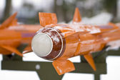 Orange missiles — Stock Photo
