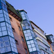Colorful condo — Stock Photo