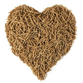 Dietary Fiber for Heart Health — Stock Photo