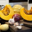 Ingredients for Pumpkin Soup — Stock Photo #10380899