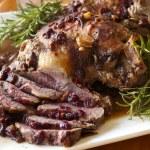 Lamb Roast with Rosemary — Stock Photo #8310631