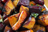 Roasted Root Vegetables — Stock Photo