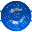 Blue Colander — Stock Photo