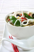 Asian Noodle Soup — Stock Photo