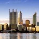 Perth at Dusk — Stock Photo