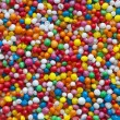 Candy Sprinkles Background — Stock Photo