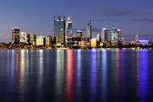 Perth w nocy — Zdjęcie stockowe