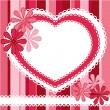 Vector de stock : Background for valentine