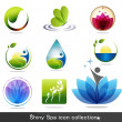 Vector de stock : Nature icons