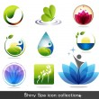 Nature icons — Vector de stock #10070217