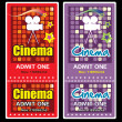 Cinema tickets — Stock vektor