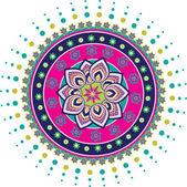 Lotus desen — Stok Vektör