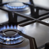 Kitchen Stove — Stock Photo