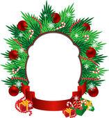Christmas greetings — Stock Vector