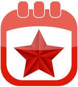 Icon May 9 calendar — Stock Vector