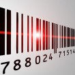 Barcode scan — Stock Photo #7980944