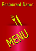 Vector restaurant menù (03) — Stock Vector