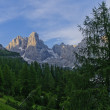 Italian Dolomites landscape - Stock Photo