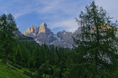 Italian Dolomites landscape — Stock Photo