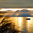 Sunrise Lake Geneva — ストック写真