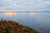 Sonnenaufgang-Genfersee — Stockfoto