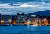 Geneva Cityscape — Stock Photo