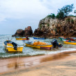 Malay Fishing Boats — Stock Photo