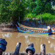 Malay Boats — Stock Photo