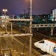 Geneva Trainyard — Stock Photo #8610131