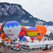 2012 Hot Air Balloons Festival in Switzerland — Stock Photo