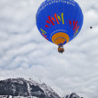 2012 Hot Air Balloons Festival in Switzerland - 图库照片