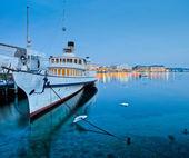 Tourist Cruise Ship — Stock Photo