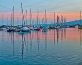 Lake Geneva Dawn — Stock Photo