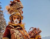 Karnawał venitien d annecy 2012 — Zdjęcie stockowe
