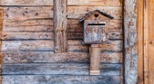 Wooden Mailbox — Stock Photo