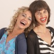 Two friends laughing — Stock Photo #9844539