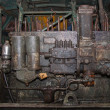 Old diesel engine — Stock Photo