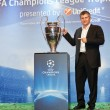 Royalty-Free Stock Photo: Suker with Champions League Cup