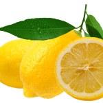 Lemon on white — Stock Photo #8050459