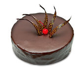 Chocolate cake — Stockfoto