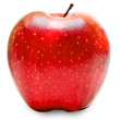 Red apple isolated on white background — Stock Photo