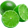 Stock Photo: Lime isolated on white background