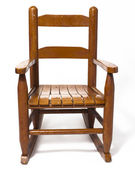 Childs Rocking Chair Isolated White — ストック写真