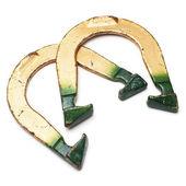 Pitching horseshoes — Foto Stock