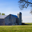 Amish Barn - Stockfoto